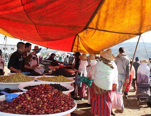 Zoco en Oued Laou