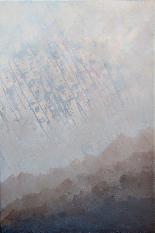 Iva Trzcinska | Rozmowa | 90×60 | akryl na płótnie | 2015