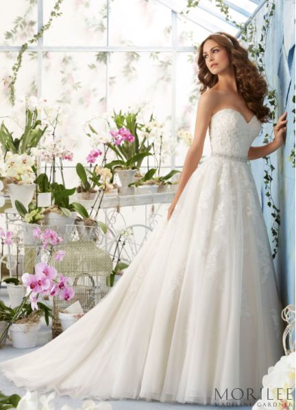 The 25 best garden wedding dresses ideas on pinterest lace the perfect bridal gown for a garden wedding a stunning soft ball gown with alencon junglespirit Images