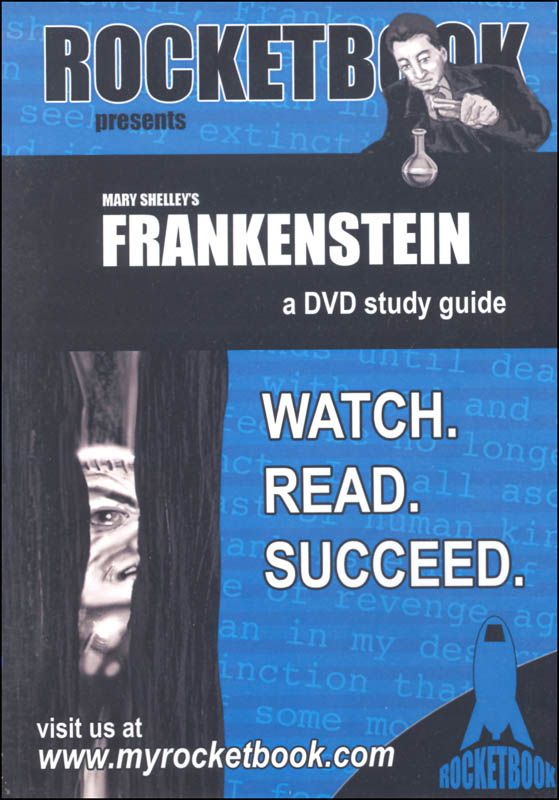 Frankenstein Rocketbook Study Guide DVD   Main photo (Cover)