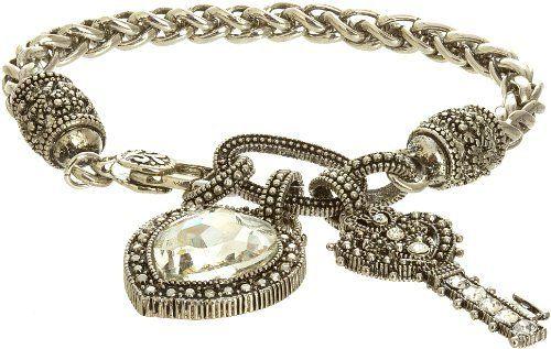 Royal Diamond Heart and Key Fashion Designer Charm Bracelet Royal Diamond. $21.17. Royal Diamond Black Onyx Crystal Spiral Stretch Fashion Benis Bracelet