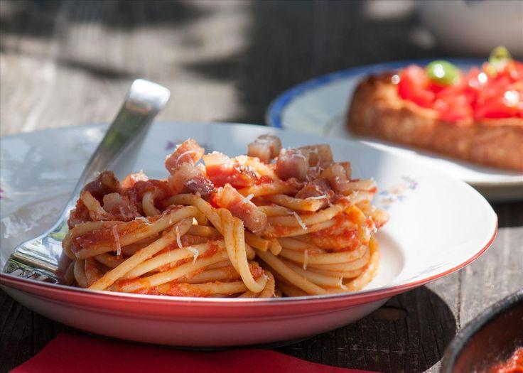 Wenn Speck auf Spaghetti, wenn Bodenständiges auf Traditionelles trifft