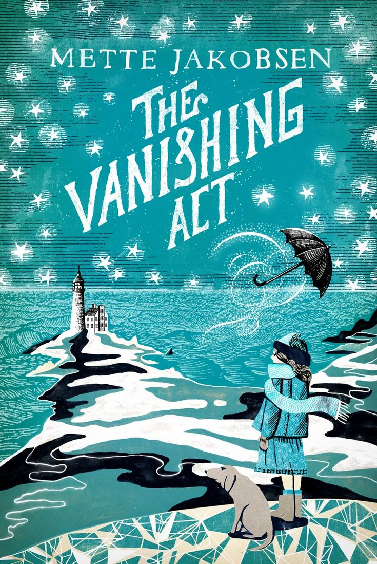 THE VANISHING ACT  Kris Potter, from Random House UK, hired me to do this young-adult paperback cover.