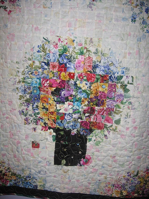 1000 Images About Watercolor Quilts On Pinterest