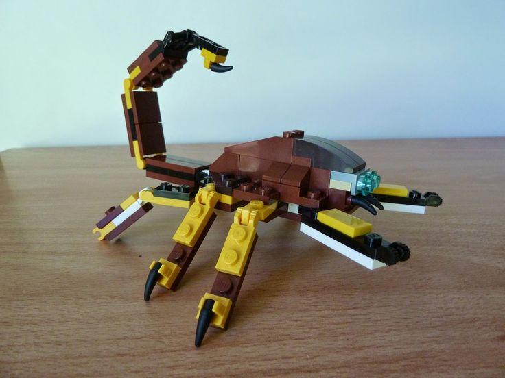 Totobricks: LEGO 31004 LEGO CREATOR 3 IN 1 Fierce Flyer SCORPI... http://www.totobricks.com/2014/12/lego-31004-lego-creator-3-in-1-fierce_42.html