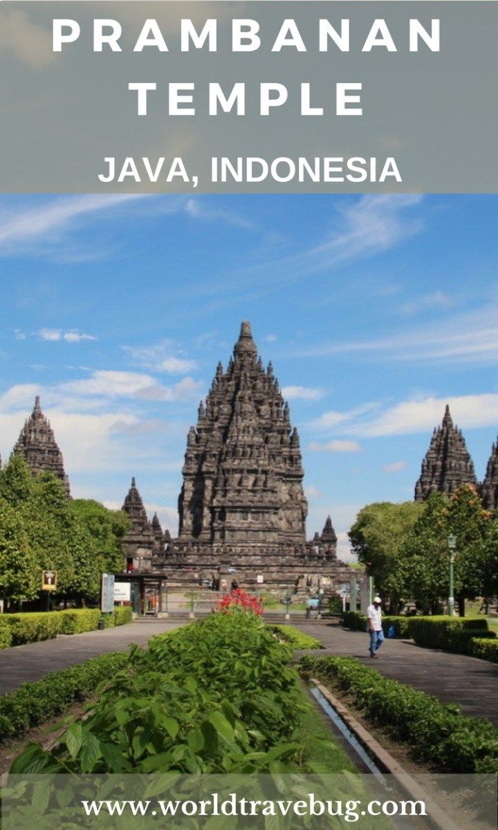 The Prambanan temple complex is a UNESCO world heritage site. The main temple belongs to hindu religion and it is the biggest temple dedicated to Lord Shiva
