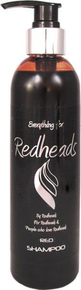 250ml Red Colour Depositing Shampoo for Red Hair