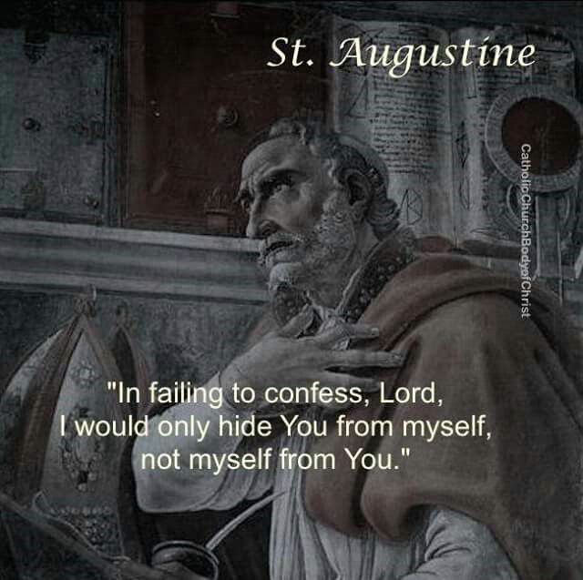 St. Augustine. Catholic Saints