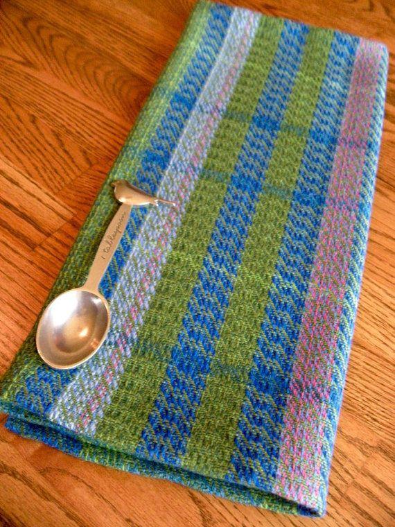 Handwoven Gourmet Kitchen Towel, GOTS Certified Organic Yarn, Hand Woven  Dish Towel, Guest Towel, Hand Towel, Handmade, Wild Ireland #1