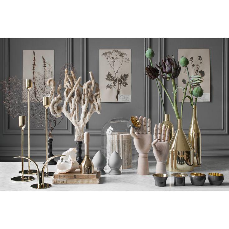 Liljan candle holder brass – Skultuna #interior #design