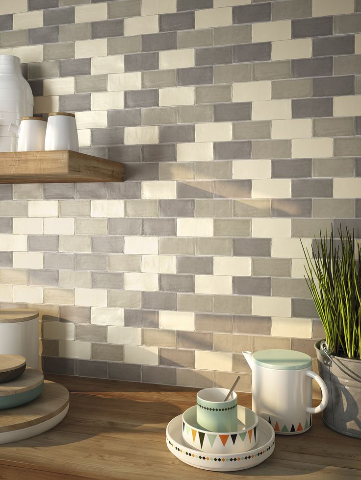 Atelier subway tiles...