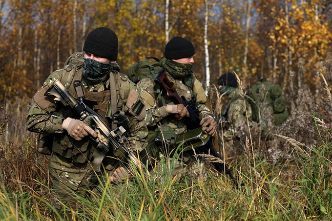 Spetsnaz GRU during an exercise [680  453]