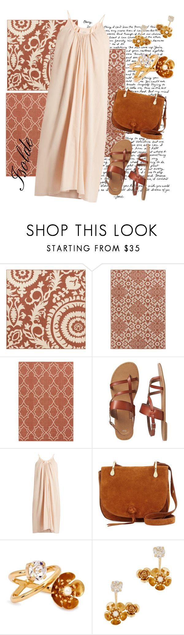 """""""Isolde"""" by mia-de-neef ❤ liked on Polyvore featuring Surya, Gap, Loup Charmant, Elizabeth and James and CA&LOU"""