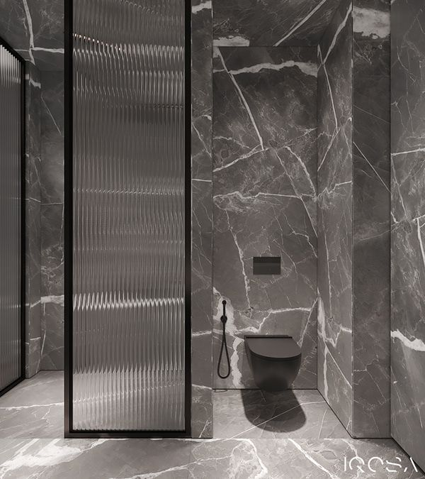 Grey Tints Apartment Dezign Ark Beta Small Bathroom Makeover Washroom Design Bathroom Design