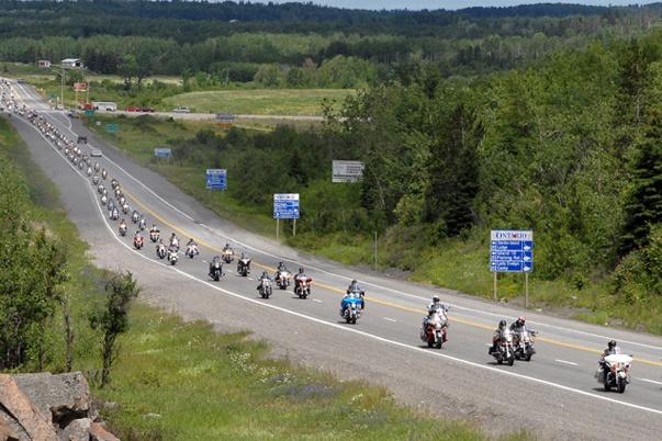 Biker's Reunion New Liskeard ON now called Temiskaming Shores
