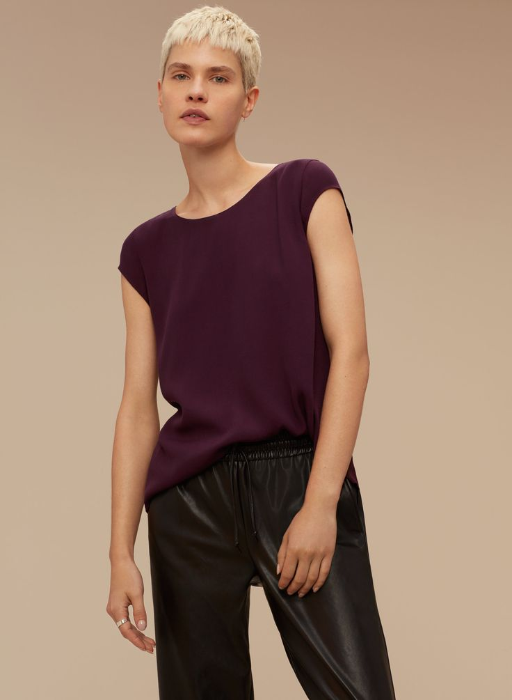 Wilfred Free JULIGER BLOUSE | Aritzia :: $65