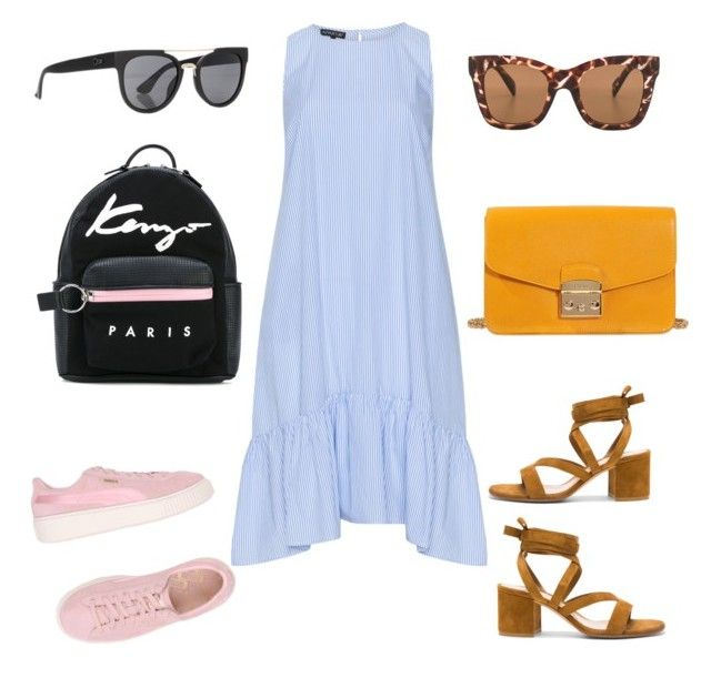 """Summer Wishlist (2)"" by patriciacani on Polyvore featuring mode, Puma, Gianvito Rossi, Kenzo, Furla et Quay"