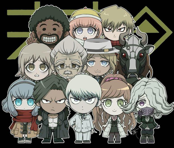 Danganronpa 3 Anime Characters : Best danganronpa images on pinterest super