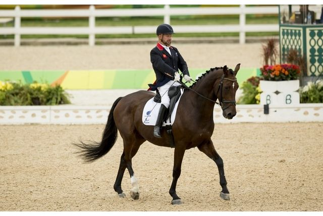 Lee Pearson - gold freestyle dressage