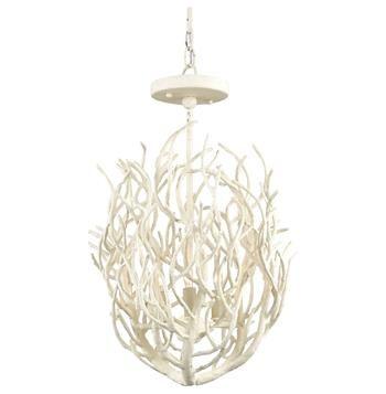 Pinterestteki 25den fazla en iyi beach style chandeliers fikri delray white coral coastal beach style 3 light chandelier mozeypictures Image collections