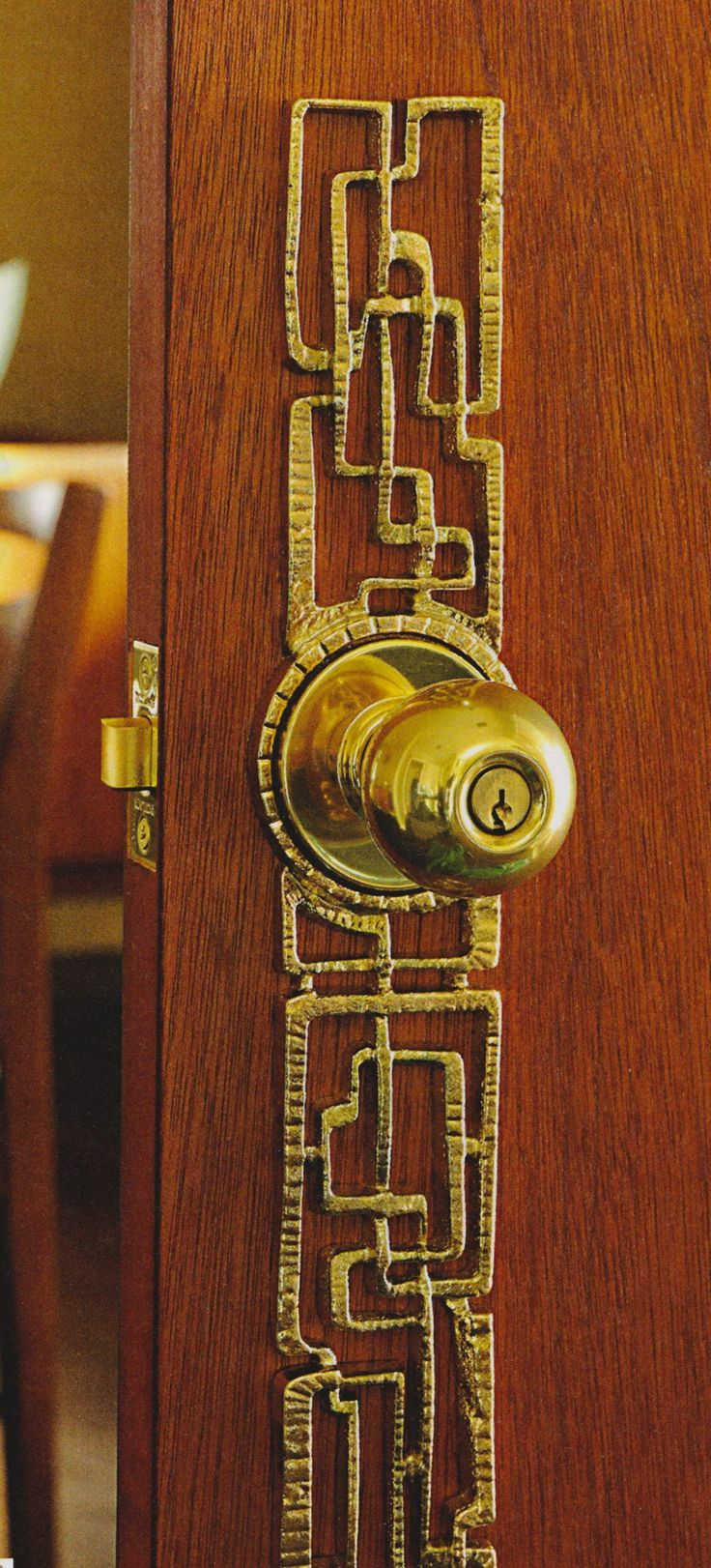 mid century door hardware - Google Search Who knew this kind of thing was even out there? I MUSTTT have...!