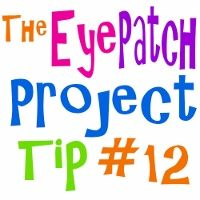 #12 BE CONSISTENT http://patchpals.com/the_eye_patch_project/view/2734/_12_be_consistent