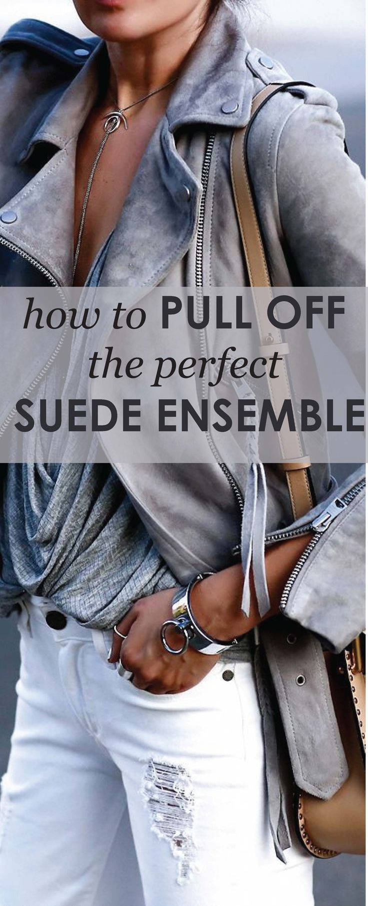 Have you been wondering how to rock the perfect suede outfit? Of course the Kardashians make it look so easy! The secret is rocking one…