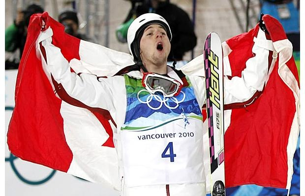 Alexandre Bilodeau - First Olympic gold medal on Canadian soil - Vancouver 2010 Winter Olympics, Feb. 14, 2010