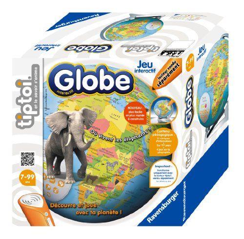 Ravensburger – 00561 – Jeu Éducatif – Globe Interactif Tiptoi: Descriptif produit : Découvre et joue avec ta planète ! De 1 à 4 joueurs.…