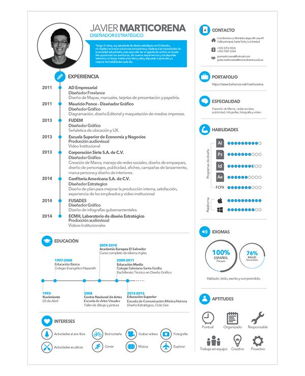 10 best images about CV model on Pinterest Resume, Resume - professional cv
