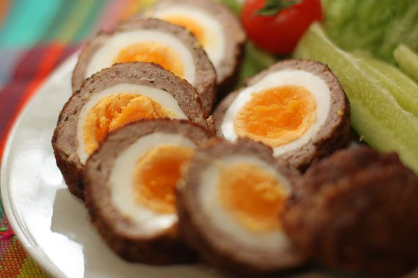 Очень вкусно и питательно! Яйца по-шотландски