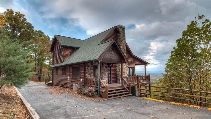 Amazing View Rental Cabin - Blue Ridge, GA