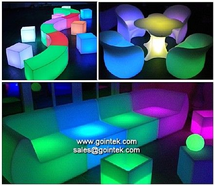 barras de bar iluminadas muebles,mesas iluminación led - Chile Chico - Muebles