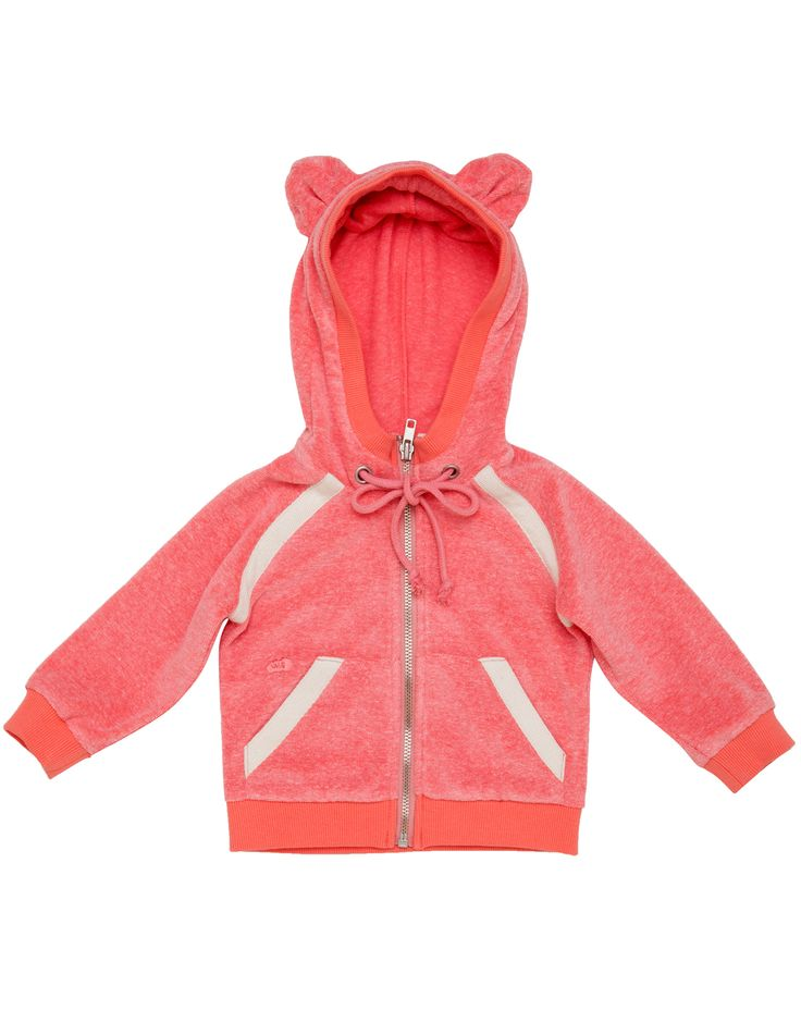 TALC Washed Red Sweat Jacket with Mouse Ears. Shop here: http://www.tilltwelve.com/en/eur/product/1061744/TALC-Washed-Red-Sweat-Jacket-with-Mouse-Ears/