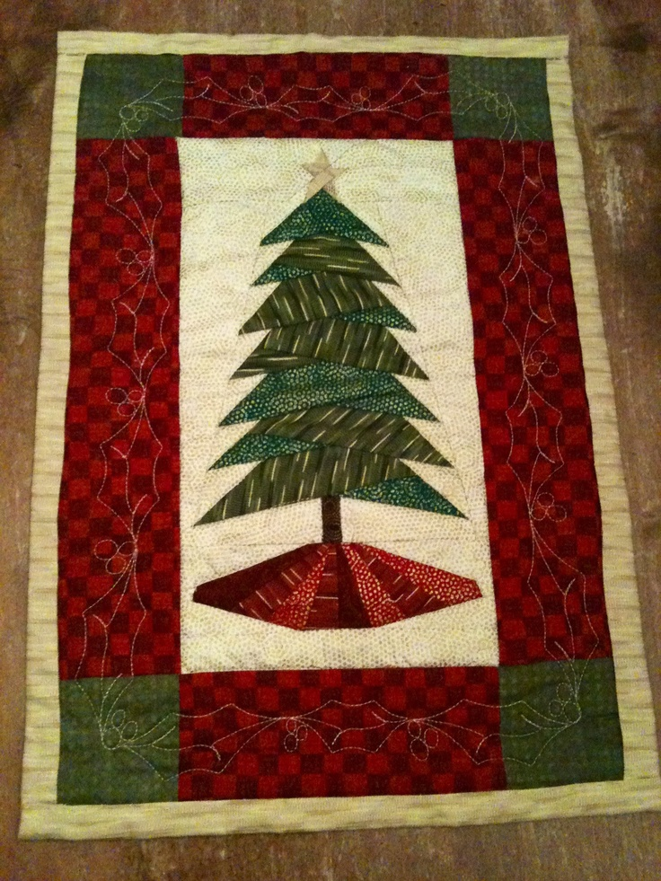 Trim The Tree Pattern By Cindi Edgerton Christmas Quilted