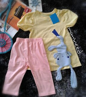 momsneed'shop: yellow set