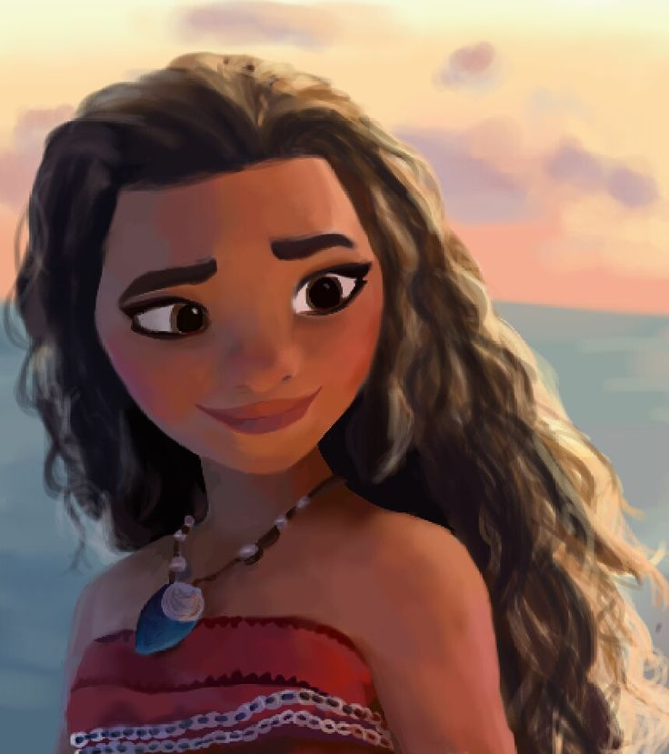 I drew a thing!!! Loving the trailer for Moana, can't wait to see it in cinemas (mostly because of how bad-ass Moana looks!)