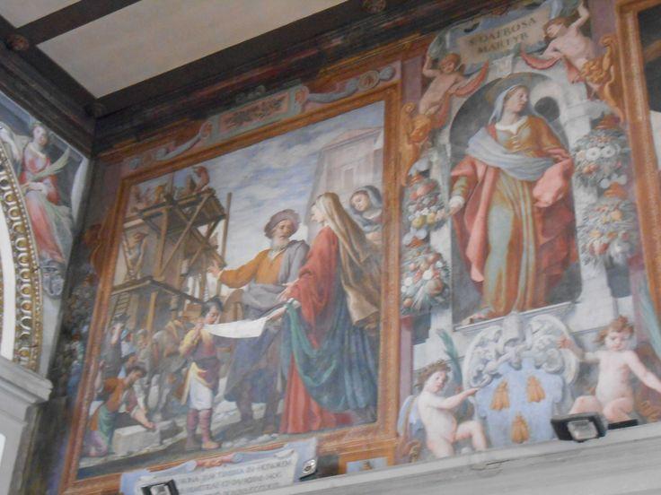 When in Rome...see Santa Bibiana on Via Giovanni Giolitti.  http://romandespatches.blogspot.it/2015/02/when-in-romesee-santa-bibiana-on-via.html