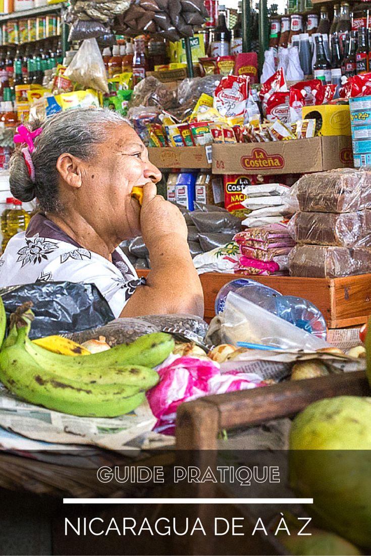 GUIDE DU NICARAGUA DE A A Z