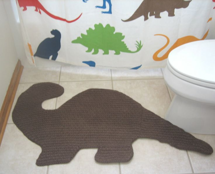 dinosaur bathroom - Google Search