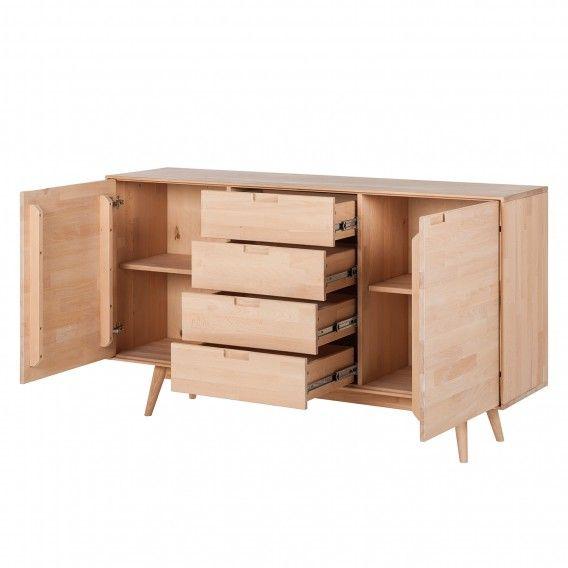 Sideboard Finsby Dressoir Woonkamer Decoratie Houten Deuren