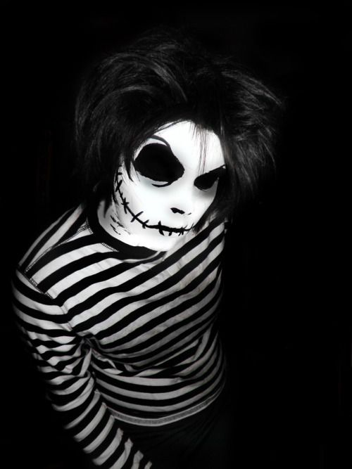 Scary Jack Skellington Makeup - Mugeek Vidalondon