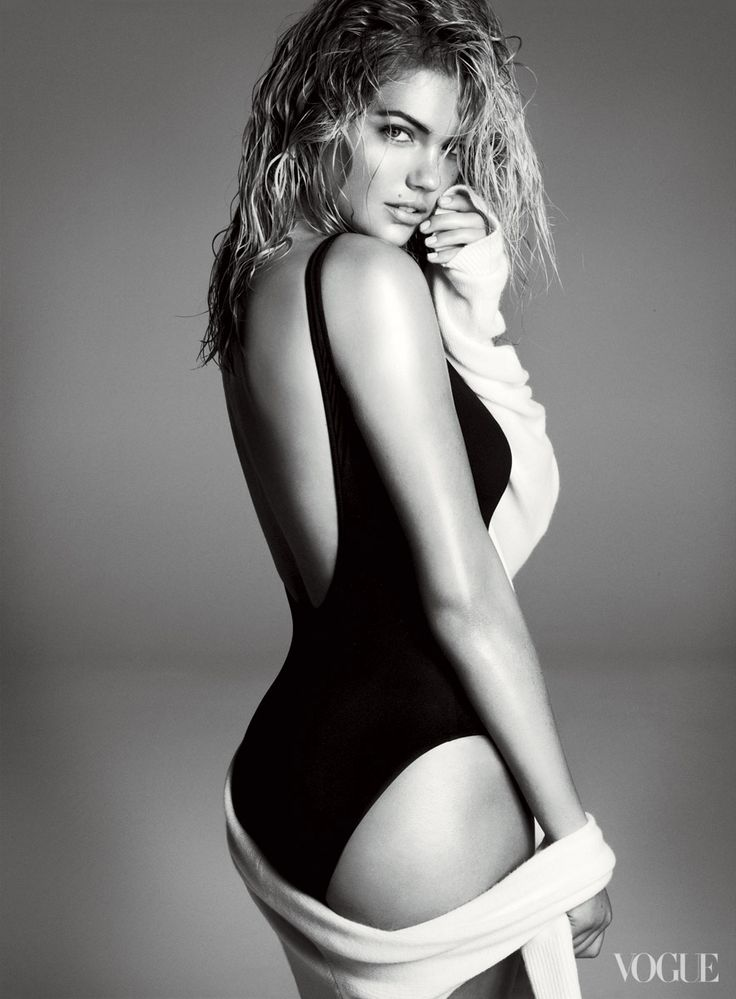 The New Girl: Kate Upton  Photographed by Steven Meisel  See the slideshow