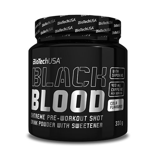 BioTech USA - BLACK BLOOD - EXTREME PRE-WORKOUT - 330 G