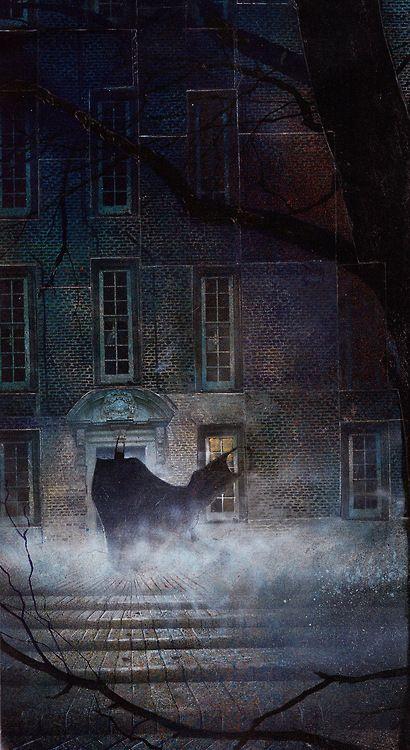 ARKHAM ASYLUM: A SERIOUS HOUSE ON SERIOUS EARTH (1989) Art by Dave McKean
