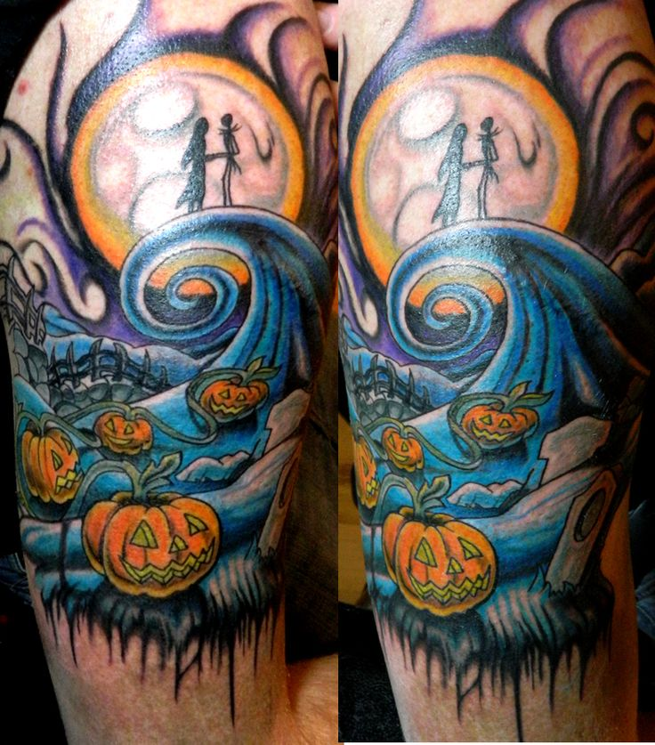nightmare before christmas tattoos | nightmare before xmas tattoo | EntertainmentMesh