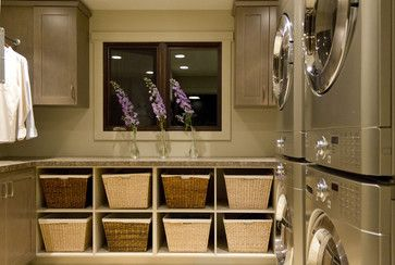 Laundry Room With Baskets Design Ideas, Pictures, Remodel, and Decor - page 4