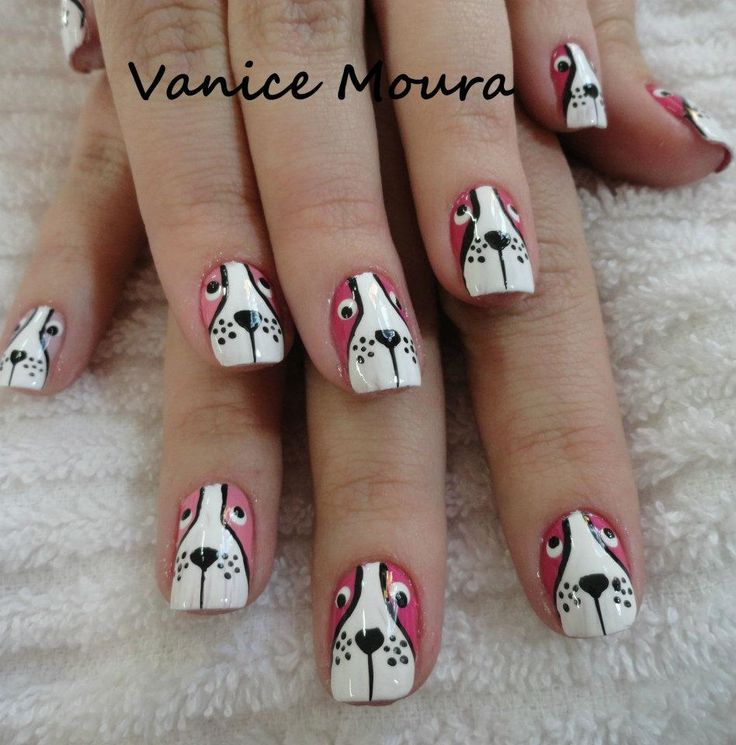 Zero The Dog Nail Designs: 115 Best Nail Designs Images On Pinterest
