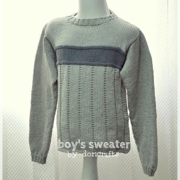 Kid's sweater. made from Indonesia cashmilon yarn...comfortable material for tropical area