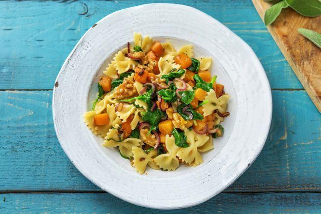 Favourite Recipes - Pumpkin, Sage & Brown Butter Farfalle